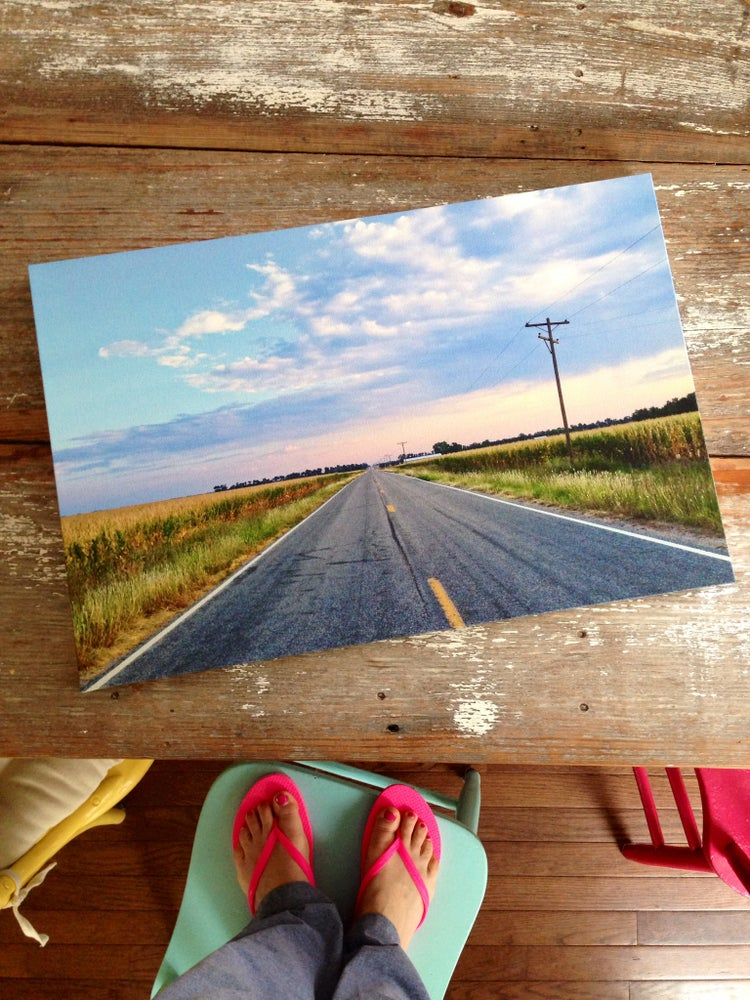 Image of Kansas Road Canvas