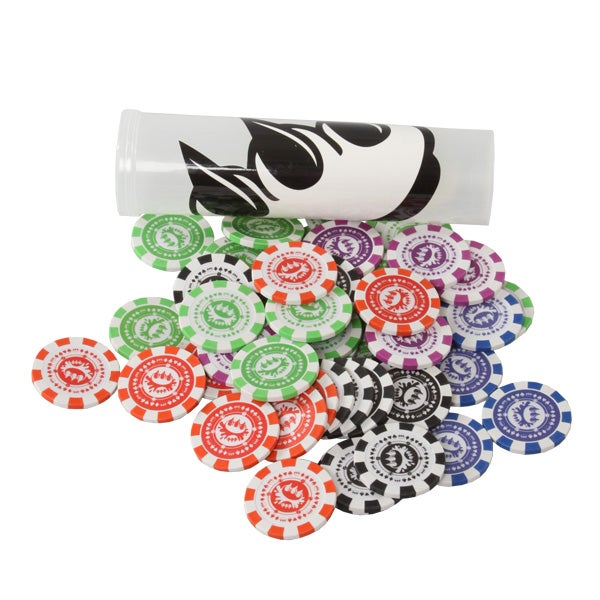 "Image of ToTT Global ""Claw $ Poker Chips and T-shirt"""