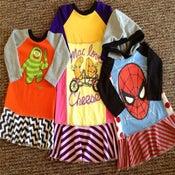 Image of Custom dress using your Tshirt