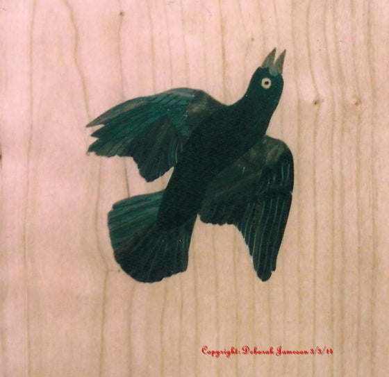 Image of Item No. 117.  Blackbird.