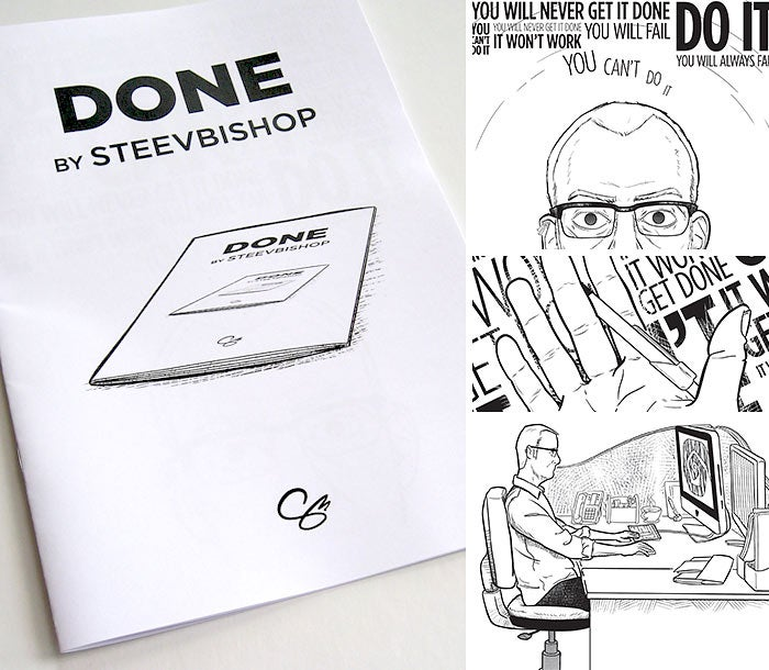 Image of Done: A5 mini-comic