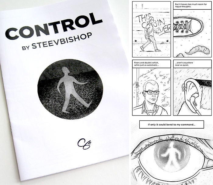 Image of Control: A5 mini-comic