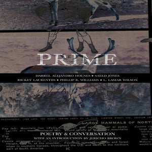 Image of Prime: Poetry & Conversation by Holnes, Jones, Laurentiis, Williams, and Wilson