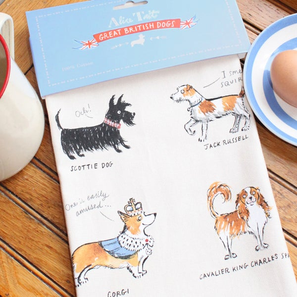 Alice Tait 'Great British Dogs' Apron (3 LEFT IN STOCK) - Alice Tait Shop