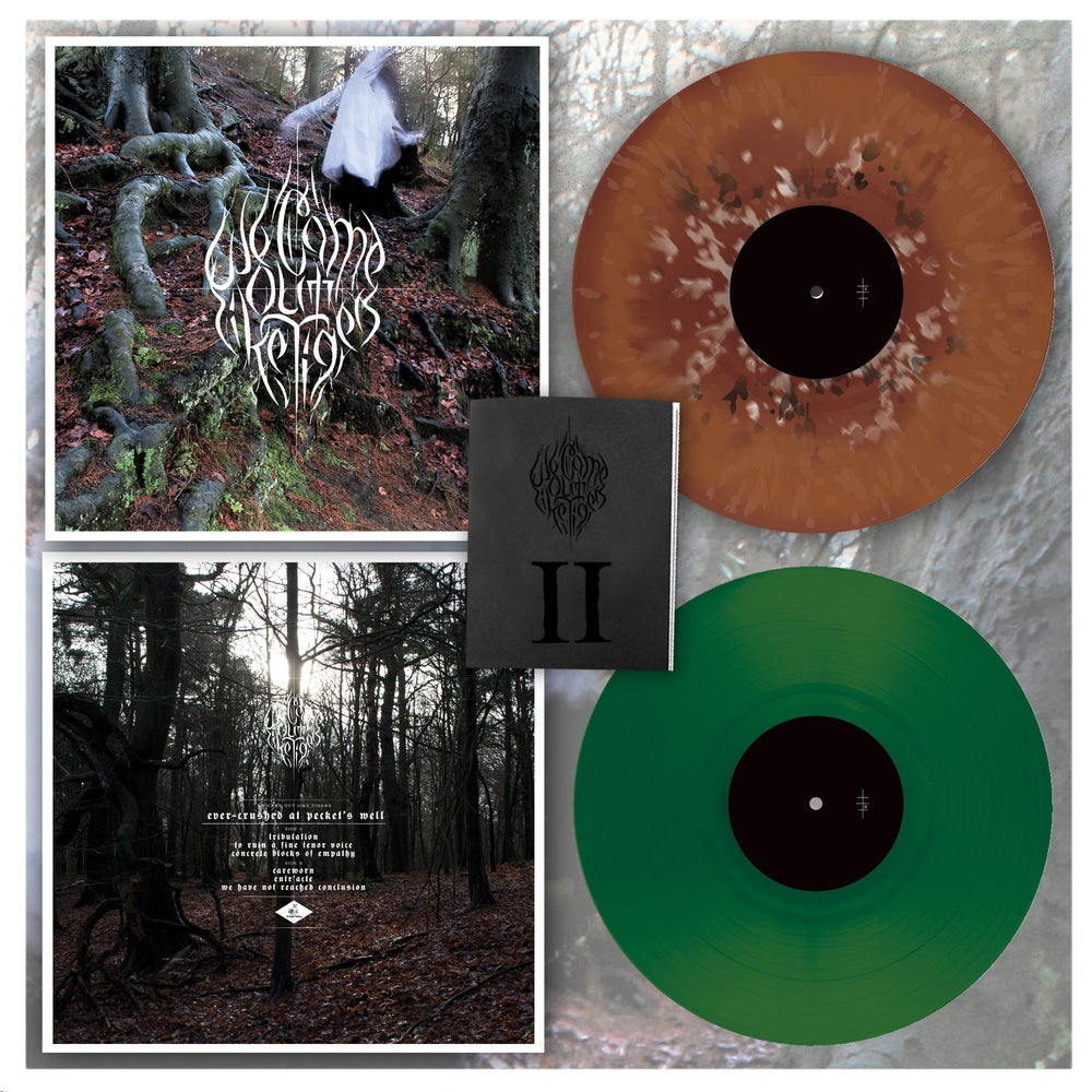 "Image of We Came Out Like Tigers – Ever-Crushed At Pecket's Well 12"" LP - Green translucent colourway"