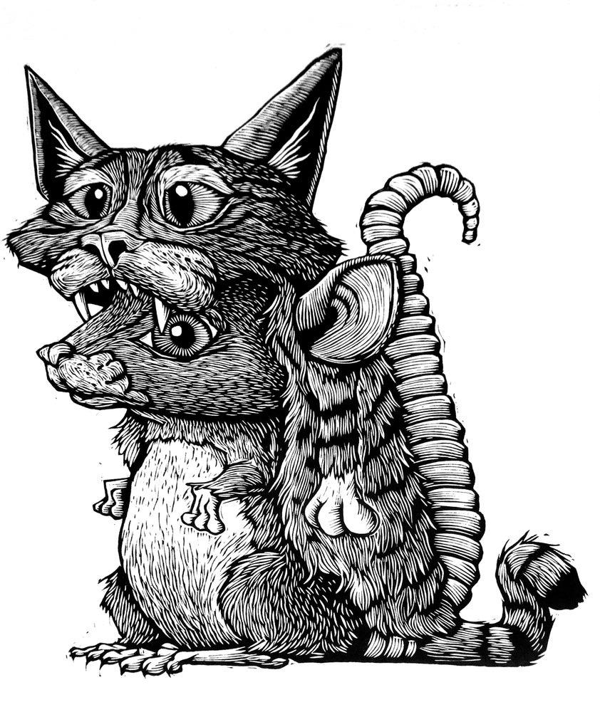 Image of Little Warrior Print