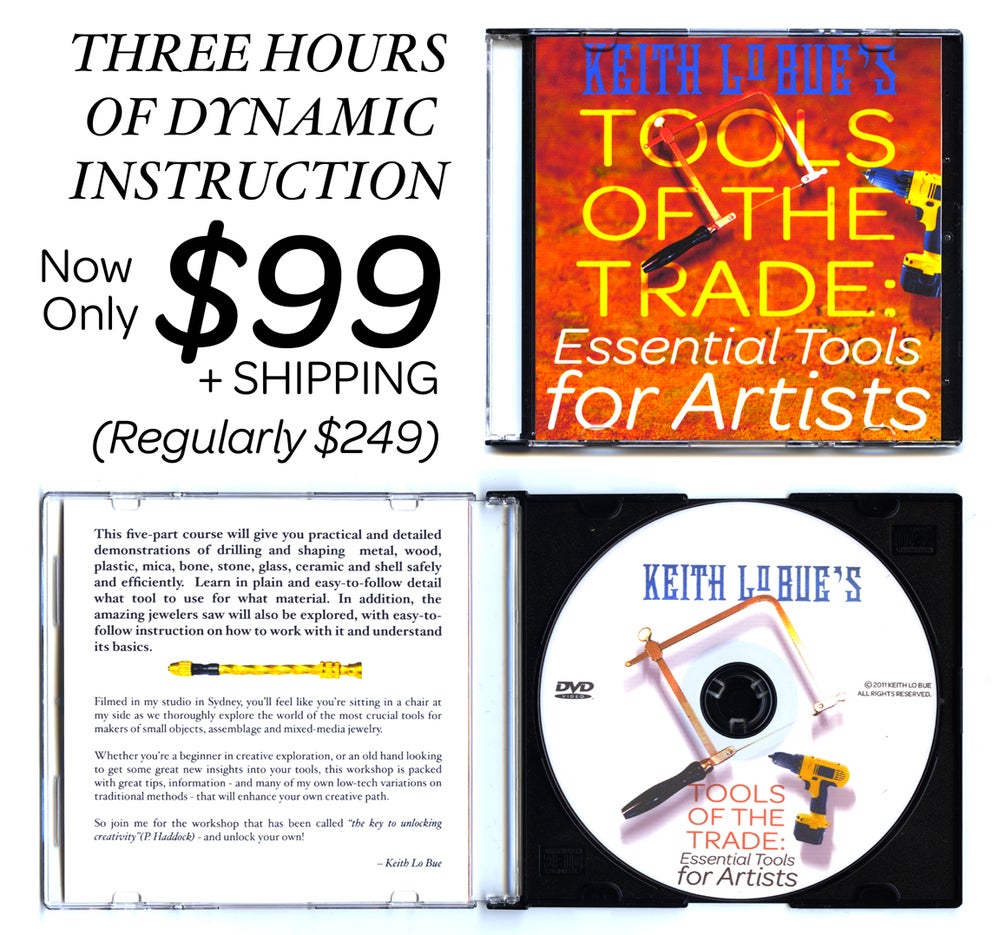 Image of TOOLS OF THE TRADE: Essential Tools for Artists - Special Sale Edition!