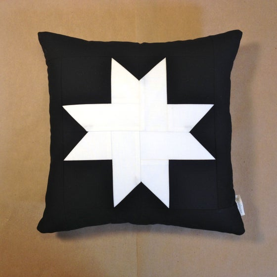 Image of Amish Star Throw Pillow
