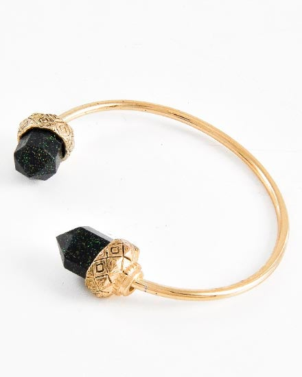 Image of Black Gem Cuff