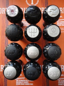 """Image of Trimsport Anodised Black LIMITED EDITION VW Golf Jetta Mk3 """"Golfball"""" Dimpled Gearknob"""