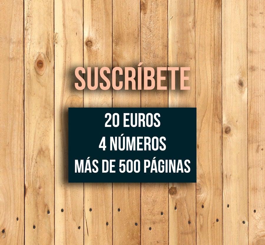 Image of Suscripción Anual (4 números papel)