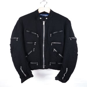 Image of Junya Watanabe MAN - FW07 Boiled Wool Riders Jacket