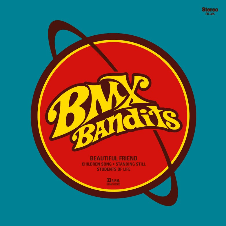 "Image of BMX BANDITS - Beautiful Friend (Limited edition yellow 7"" vinyl + free MP3 download)"