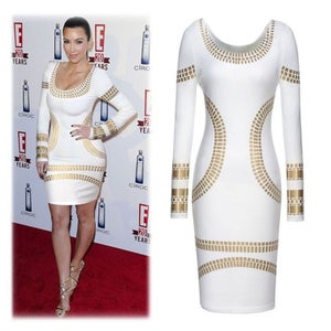 Image of Kim and Bey Bodycon Dress