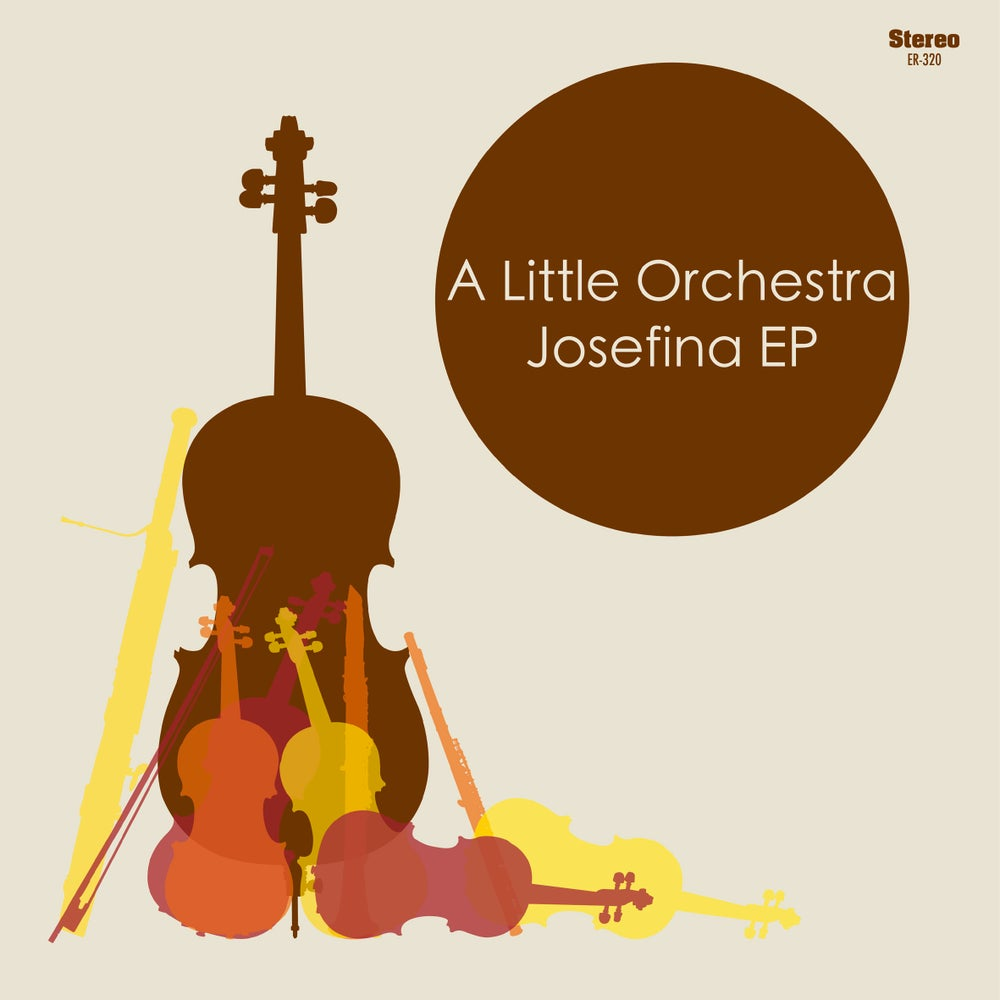"Image of A LITTLE ORCHESTRA - Josefina (Limited edition chocolate 7"" vinyl + free MP3 download)"
