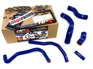 Image of FRS HPS Red High Temp Reinforced Silicone Radiator + Heater Hose Kit