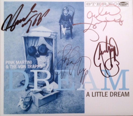 Image of Dream a Little Dream-Autographed Edition