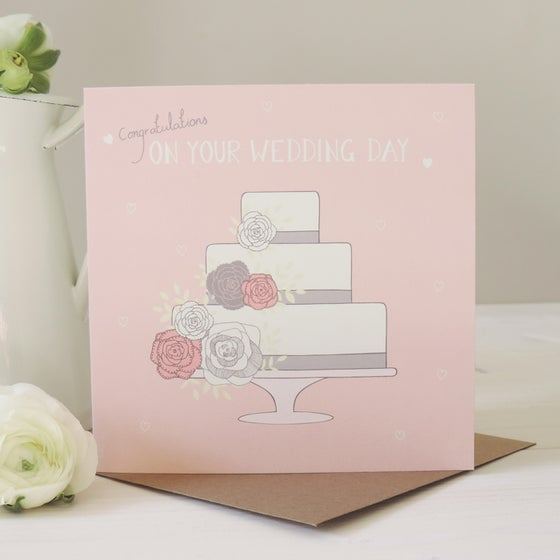 Image of Amelia 'Congratulations On Your Wedding Day' Card