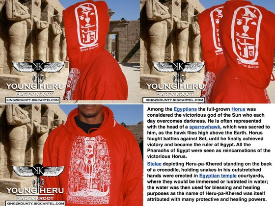 Image of HARPOKRATE (Heru the Child) HOODY