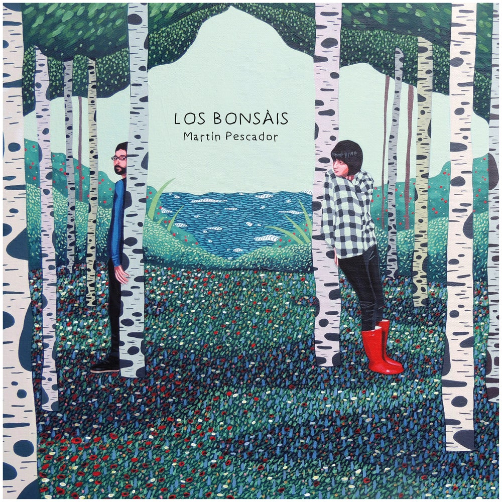 "Image of LOS BONSÁIS - Martín Pescador (Limited edition white 10"" vinyl + free MP3 download)"
