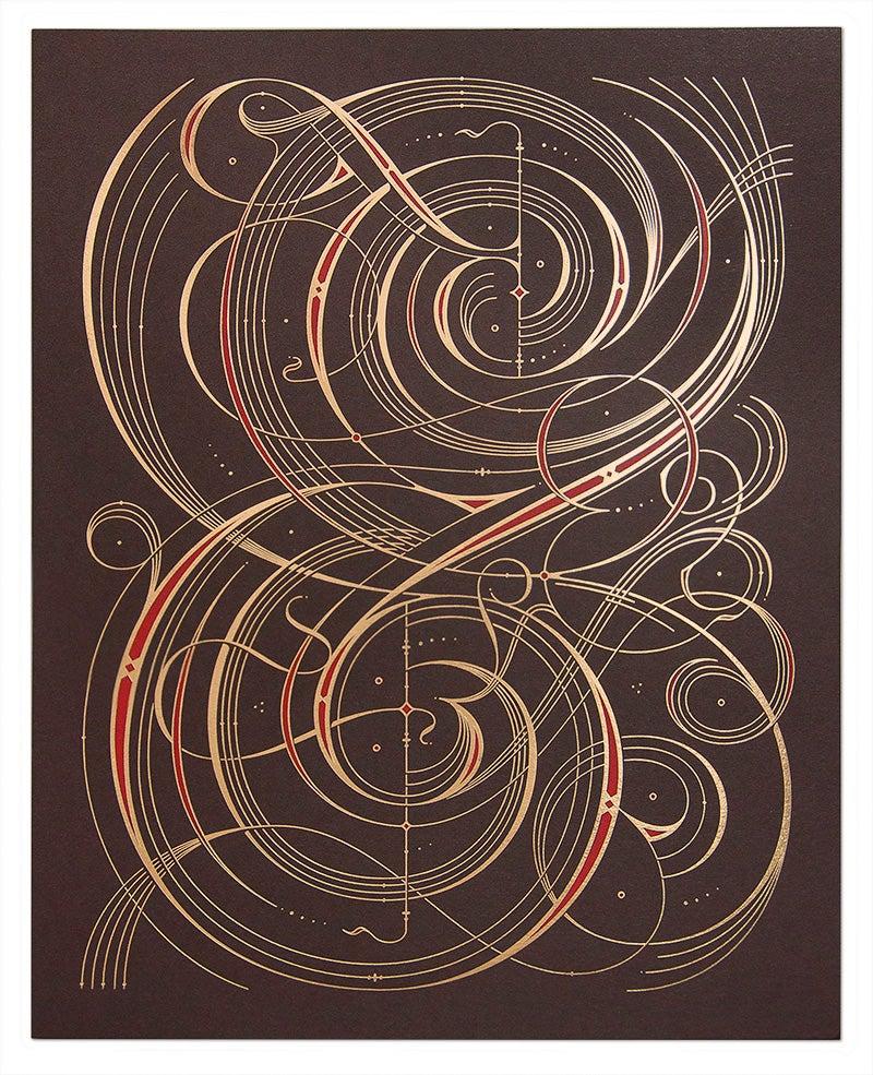 Image of Illuminated Ampersand