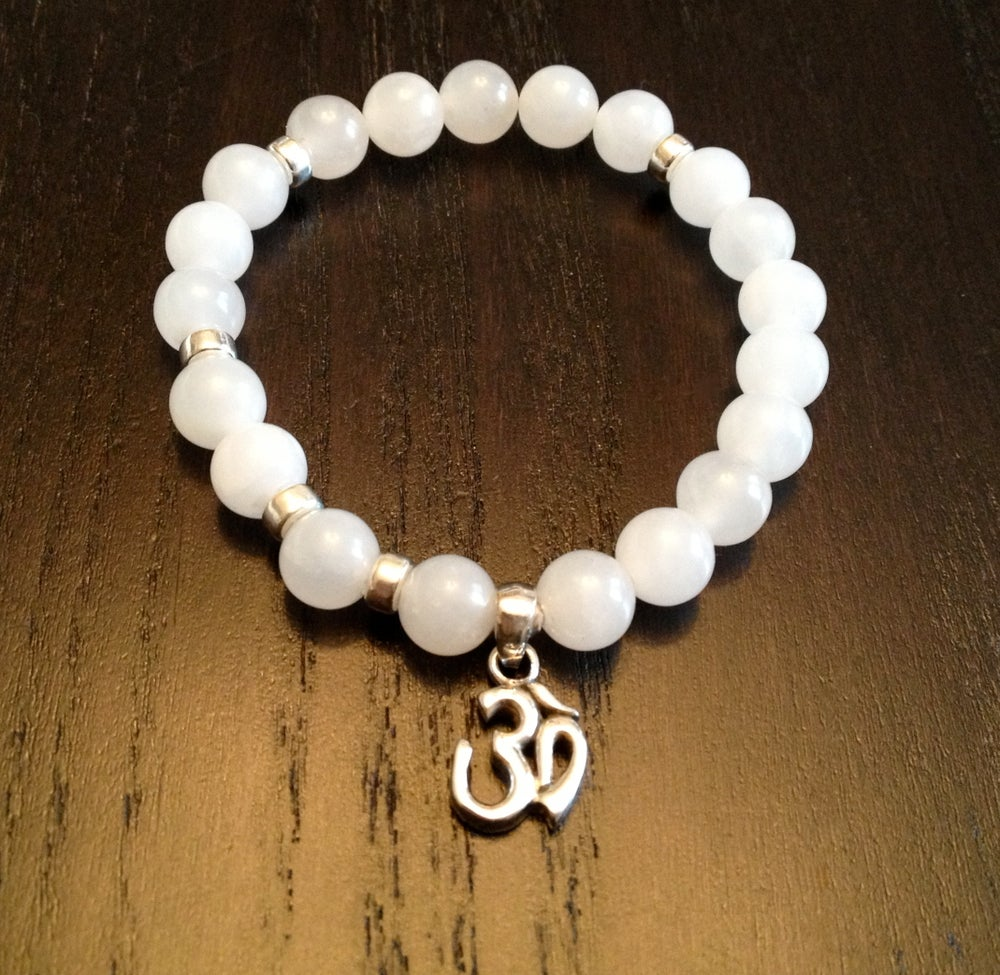 Image of Infinity Wrist Mala with OM