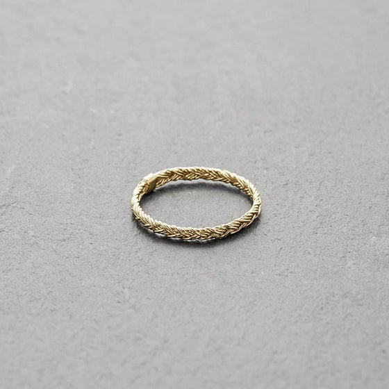 Image of Mount Lavinia Braided Ring Gold