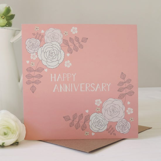 Image of Amelia 'Happy Anniversary' Card