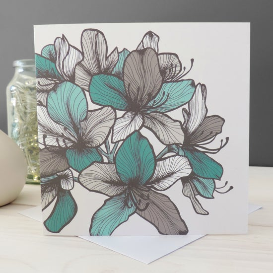 Image of 'Anna Floral' Card