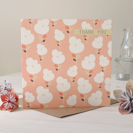 Image of Sophia Floral 'Thank You' Card