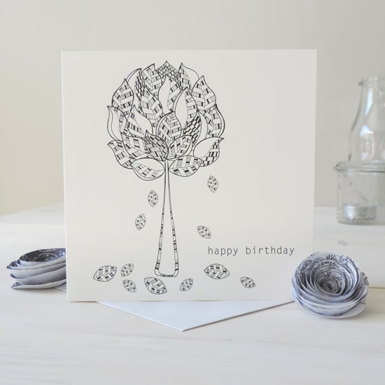 Image of Enchanted Forest 'Happy Birthday' Card