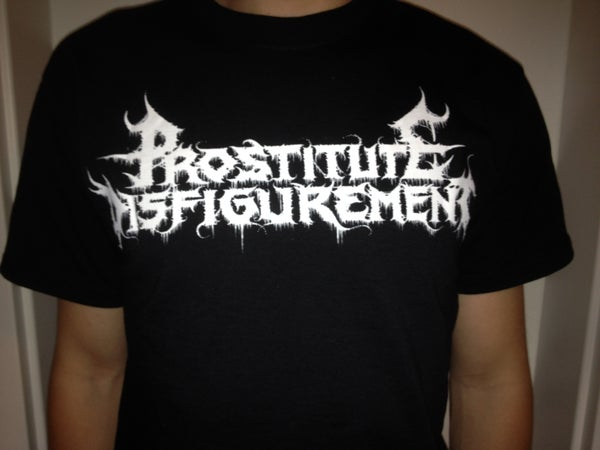 Image of PROSTITUTE DISFIGUREMENT - Horrifying Death Metal T-Shirt