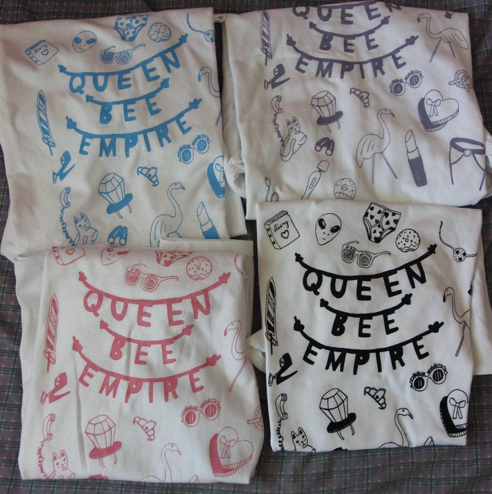 Image of White Queen Bee Empire Tee