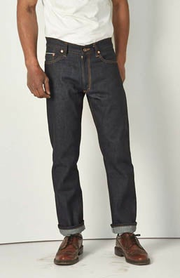 Image of Raw Cone selvage slim fit