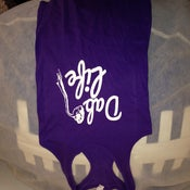 Women's tank top purple