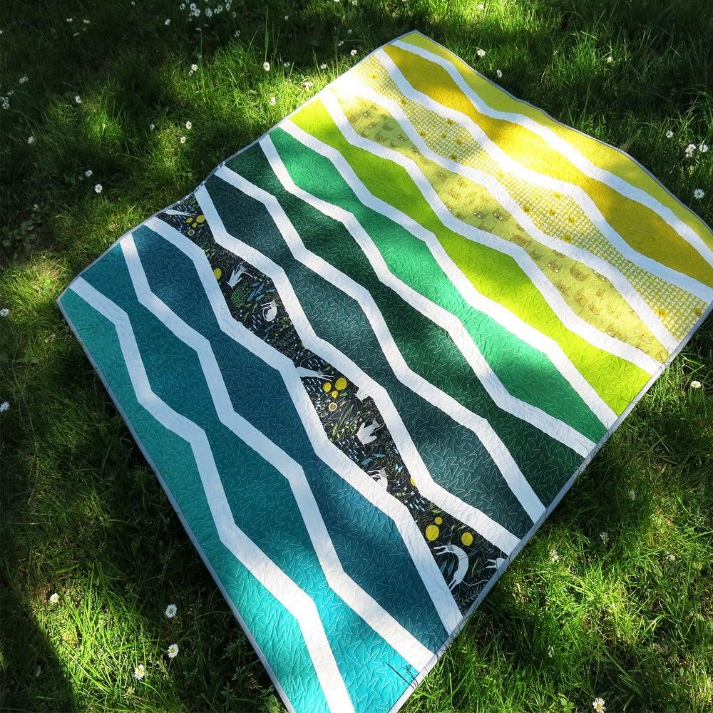 Patterns By Elizabeth Hartman New Wave Pdf Quilt Pattern