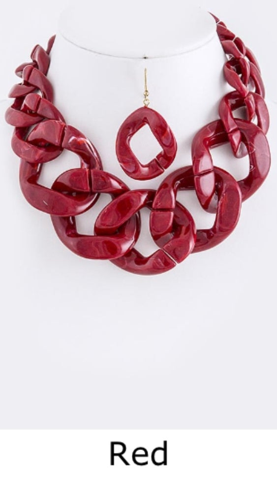 Image of Bold Chunky Link Necklace