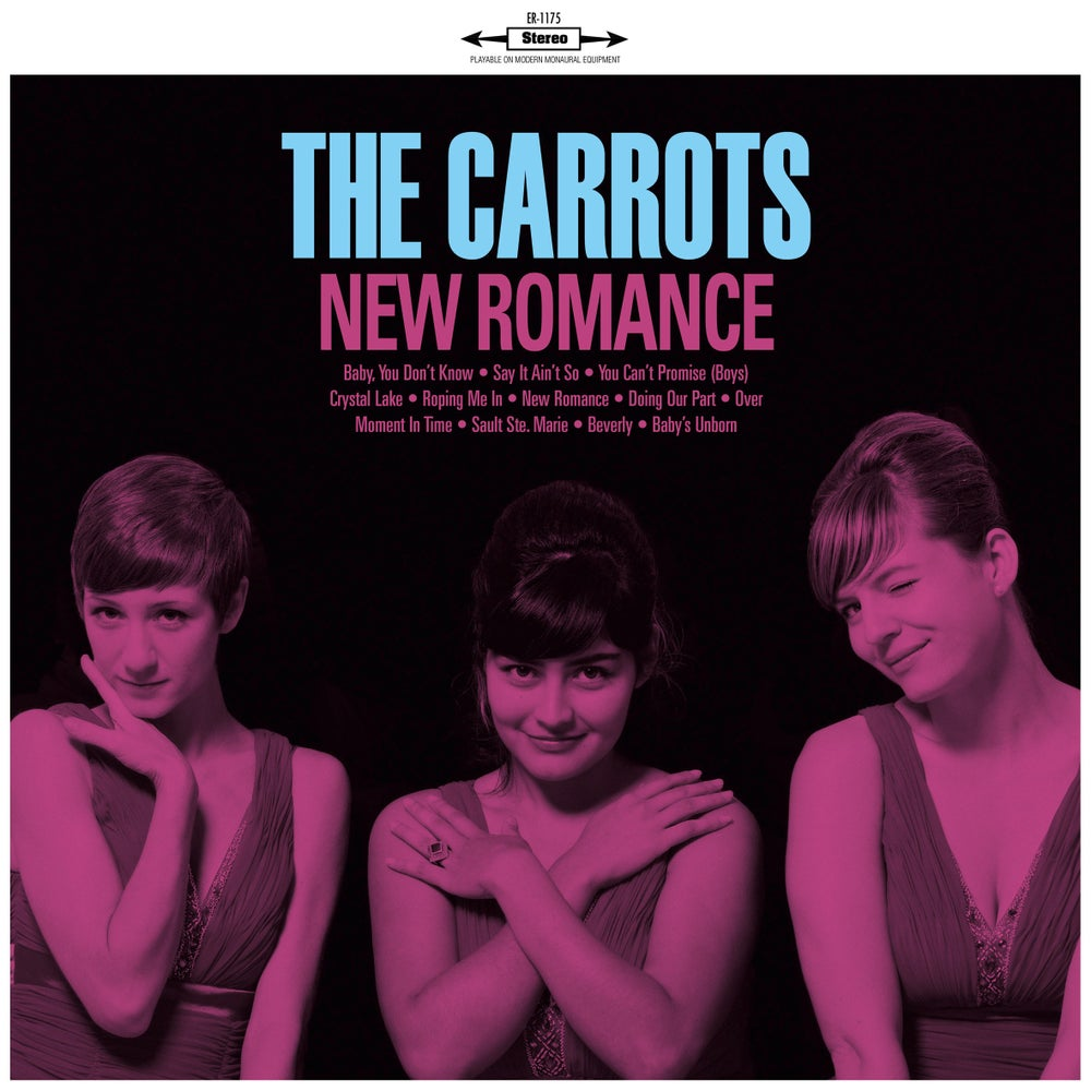 """Image of THE CARROTS - New Romance (Digipak CD/Limited edition 12"""" vinyl + free MP3 download)"""