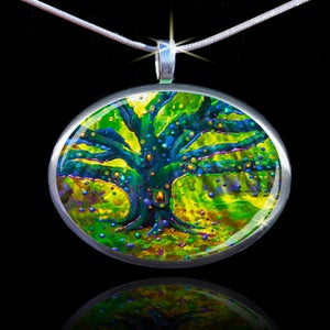 Image of The Fairy Tree - Magical Good Luck Pendant