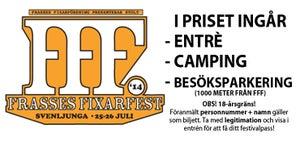 Image of Festivalbiljett (inkl besöksparkering)