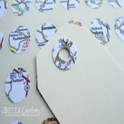 Image of Map Reinforcement Stickers, Filofax Planner stickers- FREE SHIPPING