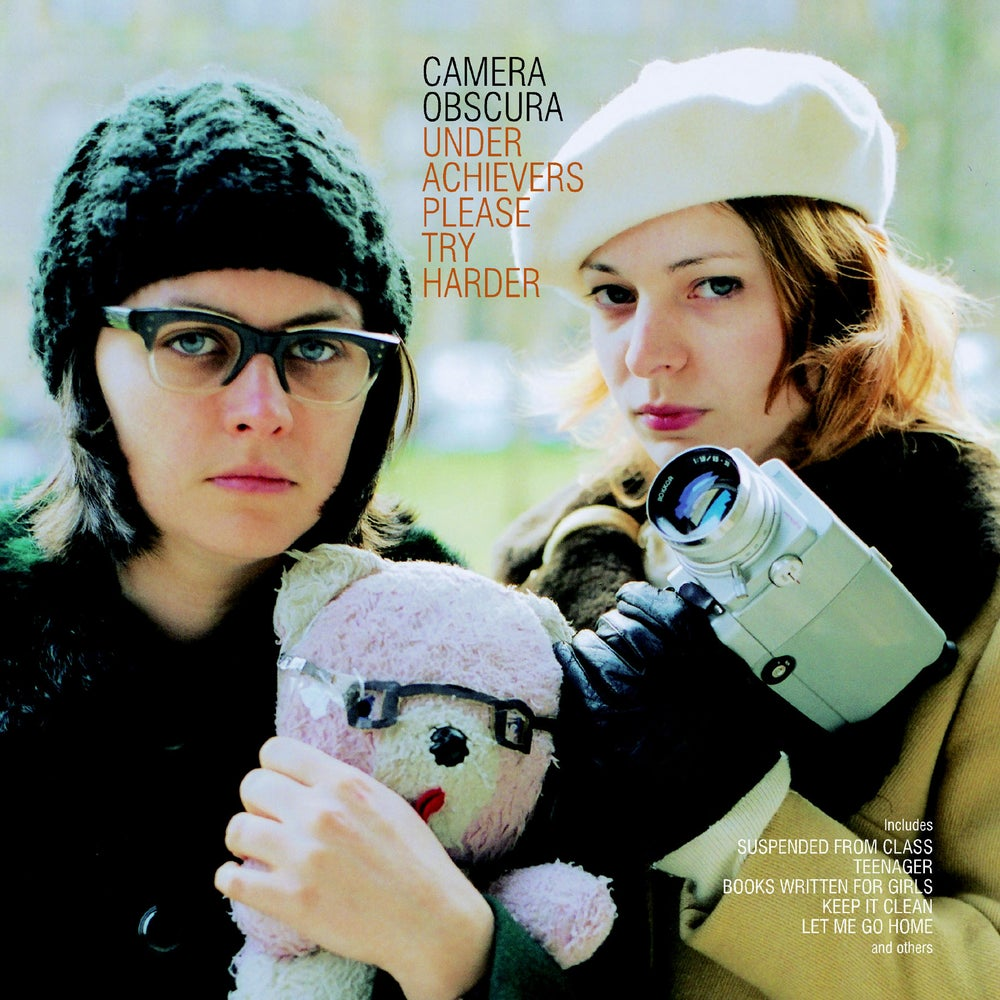 Image of CAMERA OBSCURA - Underachievers Please Try Harder (Digipak CD)