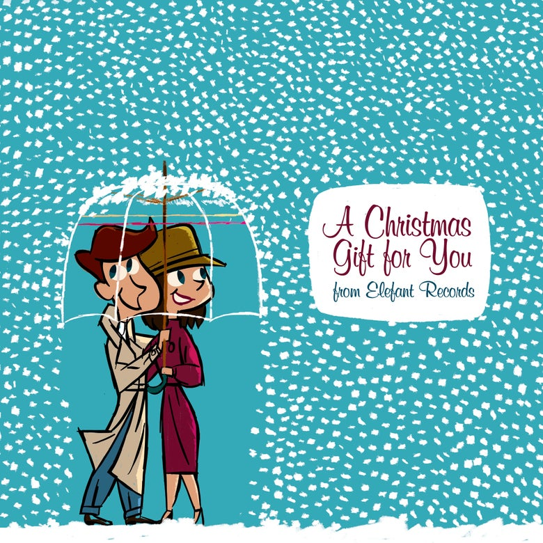 """Image of VARIOUS ARTISTS - A Christmas Gift To You From Elefant Records (CD/12"""" vinyl + free MP3 download)"""