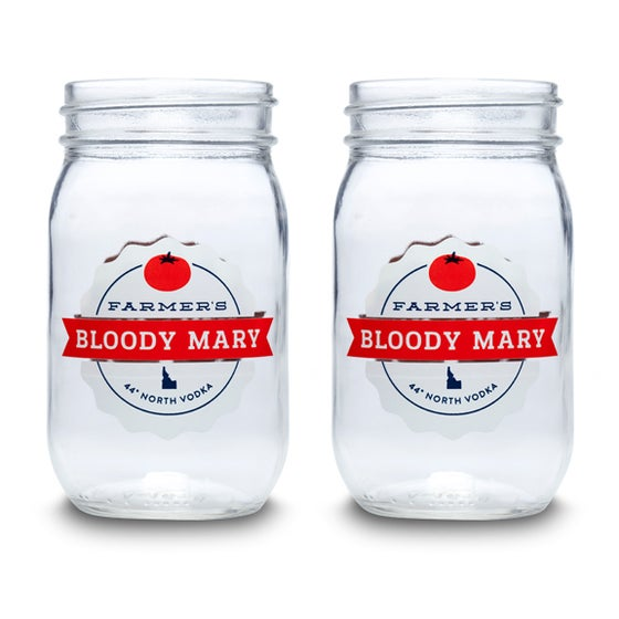 Image of Bloody Mary Jars - Set of 4