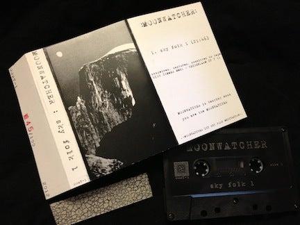 Image of Moonwatcher – Sky Folk 1 Cassette