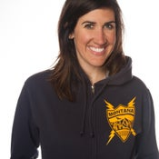 Image of Montana Coat of Arms Zip-Up Hooded Sweatshirt