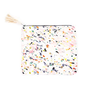 Image of White Particle Clutch