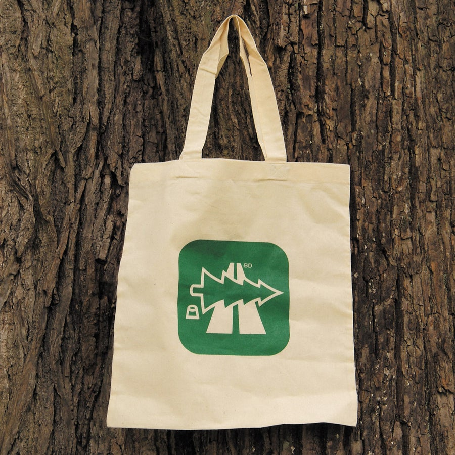 Image of Büro Destruct - Tote Bag (Oh Tannenbahn)