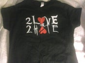 Image of 2 Love or 2 Hate Girls babydoll Shirt