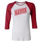 Image of Elevate Creation Strikes Back - Ladies' Baseball T-shirt